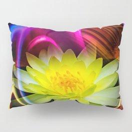 Flower Magic -Water lily Pillow Sham