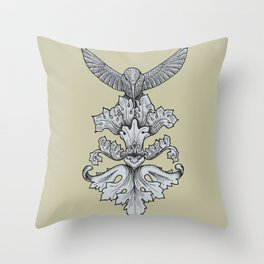 Feeder Throw Pillow
