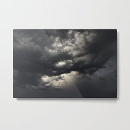 Light Core in the Storm Metal Print