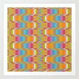 Nordic Knit Art Print