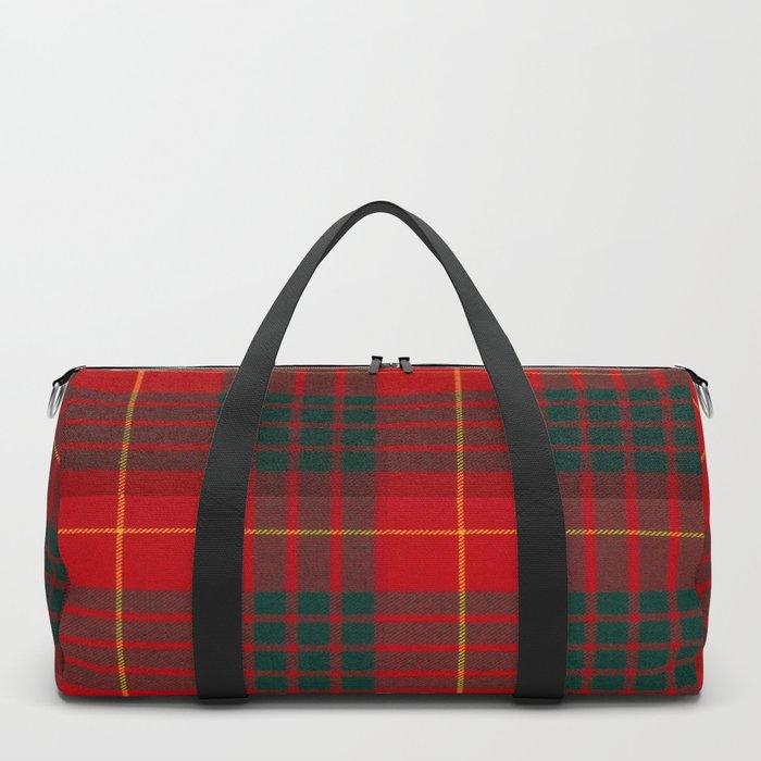 CAMERON CLAN SCOTTISH KILT TARTAN DESIGN Duffle Bag
