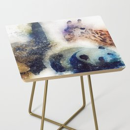 Animals Painting Side Table