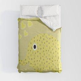 I Love Elephants Comforters