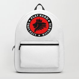 Live Long. Play Hard. Die Quick. Backpack