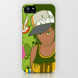 Lou iPhone Case