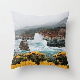 Big Sur - Micah Hamilton Throw Pillow