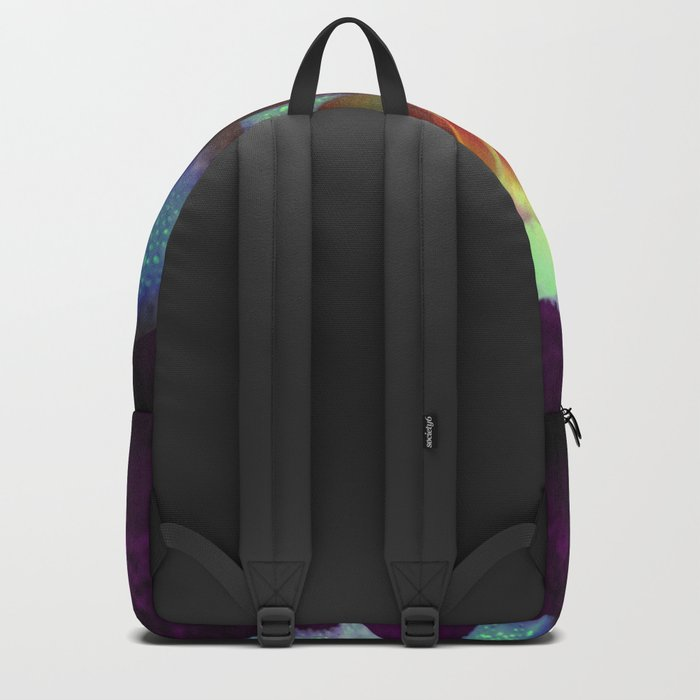 Purple Kissed Rose Backpack