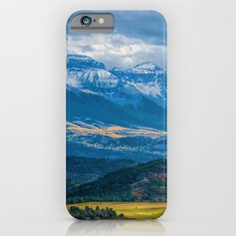 Outside of Ridgway iPhone Case