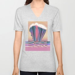 Dreams are Clouds in a Ship Unisex V-Neck
