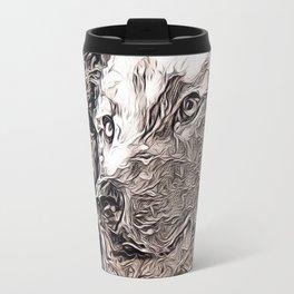 Rustic Style - Wolf Travel Mug
