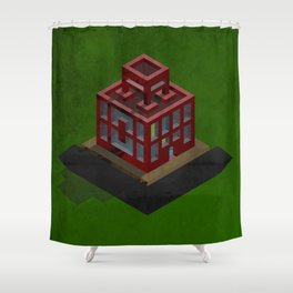 Let's Go To School Shower Curtain