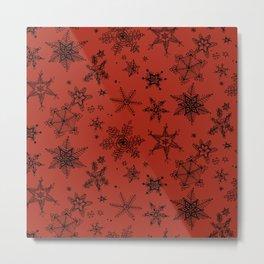 Snow Flakes 09 Metal Print