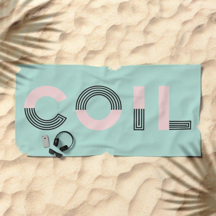 COIL Beach Towel
