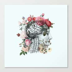 Beautiful Brain Canvas Print