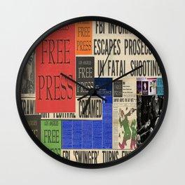 Editors' Mug 1969 meets 2014 Wall Clock