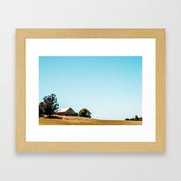 Spring Fades To Summer Framed Art Print