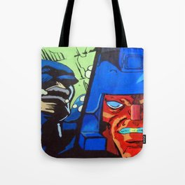 Anger in Animation Tote Bag