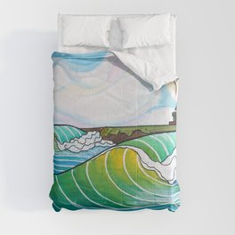 Steamer Lane Comforters