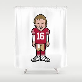 The Victrs Joey Ice Pro Toon Shower Curtain