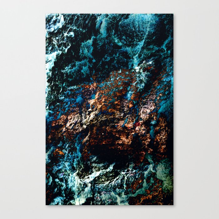A Sudden Freeze Canvas Print