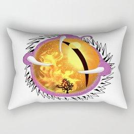 Bubblegum Dragon's Eye Rectangular Pillow