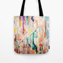Pastel Tile Mosiac 1 Tote Bag