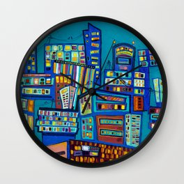 The Lost Art of Communication Wall Clock