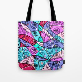 Pop Art peace for all Tote Bag