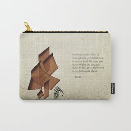 Arabic Calligraphy - Rumi - Beyond Carry-All Pouch