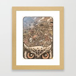 Hutom Framed Art Print