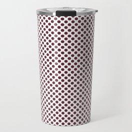 Tawny Port Polka Dots Travel Mug