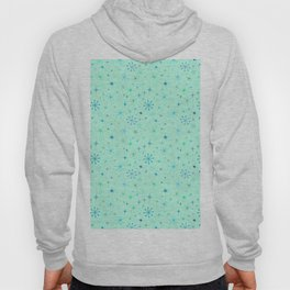 Atomic Starry Night in Mod Mint Hoody