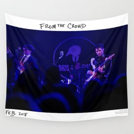Birds in the Boneyard, Print Eight: From the Crowd Wall Tapestry