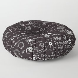 Science Madness Floor Pillow