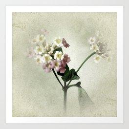 Lantana Flowers Art Print