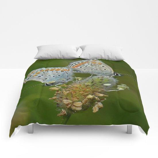 green love Comforters
