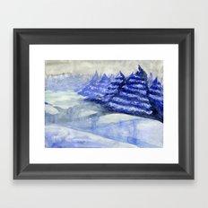 Fictional Landscape II Framed Art Print