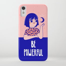 Be Powerful iPhone Case