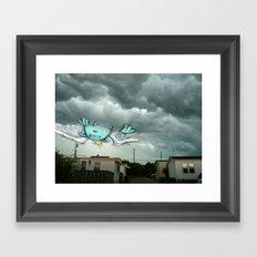 Monstertauk Framed Art Print