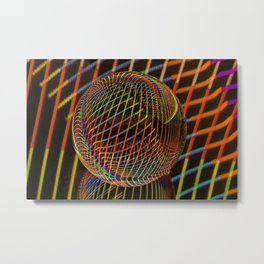 Bright lights in the ball Metal Print