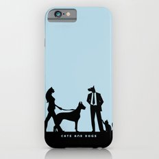 cats and dogs iPhone 6s Slim Case