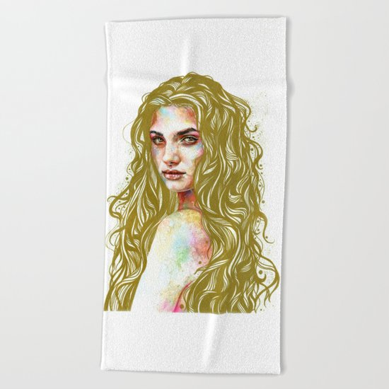 Aurum Beach Towel