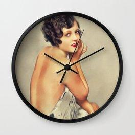 Doris Dawson, Vintage Actress Wall Clock