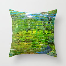 Landscape of My Heart (4 as 1) Throw Pillow