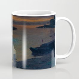 A Nightly River Cruise, Mississippi River by Ernst Max Pietschmann Coffee Mug