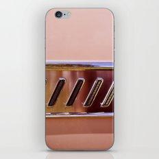 Pink Classic American Car iPhone & iPod Skin
