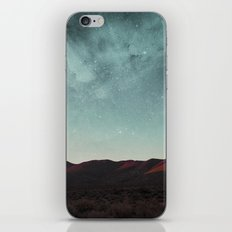 Universe above the mountain peaks iPhone & iPod Skin