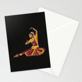 Bharathanatyam Dancer Stationery Cards