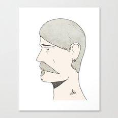 Stache Canvas Print