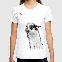 lama T-shirts featuring Lama by art9